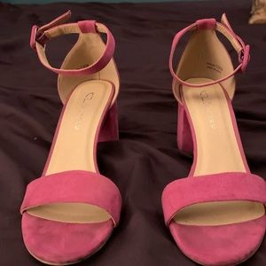 Bright Pink High Heels